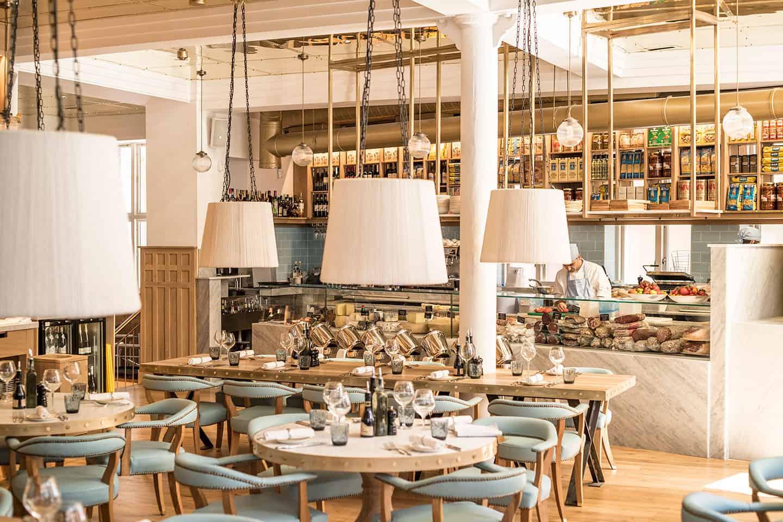 Piccolino caff grand carroll design for Piccolino hotel decor