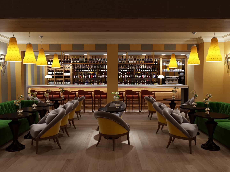 Carroll design interiors architecture design for Piccolino hotel decor